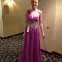 Purple Tiffany Pageant or Prom Dress Photo