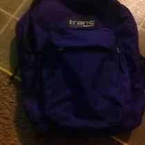 Purple Trans Jansport Backpack Photo