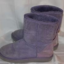 Purple Ugg Boots Photo