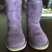 Purple Uggs Size 2  Photo