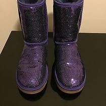 Purple Uggs Size 6 Photo
