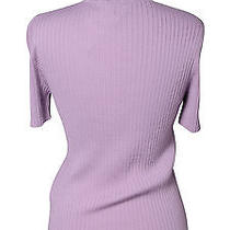 Purple Valentino Wool Top Photo