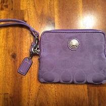 Purple Women's Coach Wallet Photo