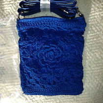 Purse New Avon Blue Crochet  Photo