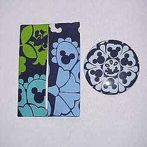 Purse Tissue Holder & Mirror Set (2 Pcs)  M/w Vera Bradley Disney Where's Mickey Photo