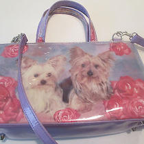 Purse Women's Shoulder Bag Cosmetic Tote Dogs Medium Free Shipping T-Bargains Photo