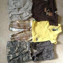 Quiksilver and Billabong Boys 3t Brand Name Clothes Lot / Shorts and Shirts Photo