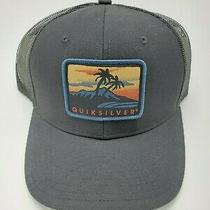 Quiksilver Ranger Rice Snapback Trucker Hat Black O/s Photo