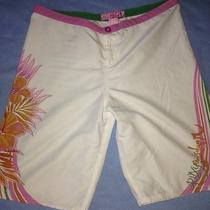 Quiksilver Roxy Women's Juniors Beach Boardshorts  Size 5 Photo