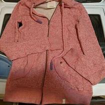 Quiksilver Women Roxy Zip Up Hoodie Sweater Jacket Heather Pink Size Xs Photo