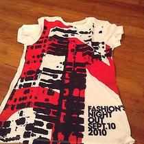 Qvc Tv Tshirt Fashion Night Out Girls Ny Sep 10 2010 Collectible Show Top White Photo