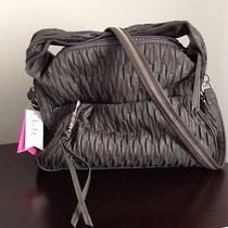 r&em Rebecca Minkoff Macys Handbag Purse Faux Leather Gray Photo