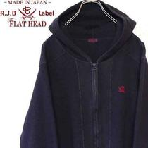 R J Blues Thermal Parker Flat Head T-Shirt Jacket From Japan Photo