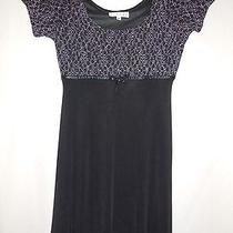 R Wear by Rampage Juniors Size Medium Stretch Black Short Sleeve Dress Photo
