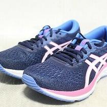 R4-339 Asics Gel-Excite 7 Peacoat/white Women's Running Shoes Sz 8 Photo