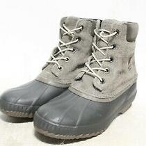 R4-521 Sorel Cheyanne Ll Major Coal Waterproof Men's Winter Boots Sz 11 Photo