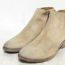 R4-825 Frye Carson Piping Beige Multi Women's Booties Sz 8.5m Photo