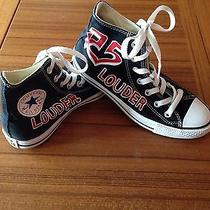 R5 Hand Painted Converse Sz 7 Photo