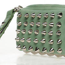 Rachael Ruddick Prism Studded Stud Clutch Bag Handbag Photo