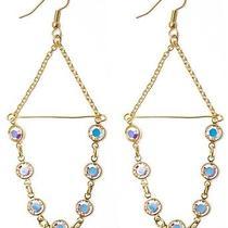 Rachel Eva - Chandelier Swarovski Crystal Chain Earrings Photo