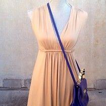 Rachel Pally Dress Xs Beige v Neck  Photo