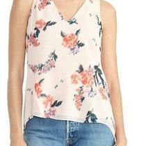 Rachel Rachel Roy Womens Blouse Blush Pink Size Xs v Neck Floral-Print 79 216 Photo