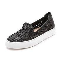 Rachel Zoe Burke Slip on Sneakers Black Size 9 Photo