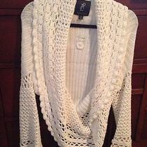 Rachel Zoe Crochet Sweater Photo