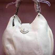 Rachel Zoe Handbag Leather Antique White Photo