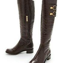 Rachel Zoe Jacqueline Brown Riding Croc Boots Shoes 40 Us 10 Nwt Photo