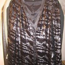 Rachel Zoe Sequin Blazer M Photo