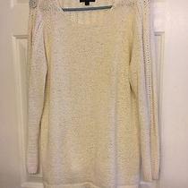 Rachel Zoe White Xl Sweater Photo
