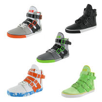 Radii Straight Jacket Vlc Men's High Top Shoes Sneakers Buckle Photo