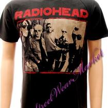 Radiohead Alternative Rock Band Music Men T-Shirt Sz Xl Photo