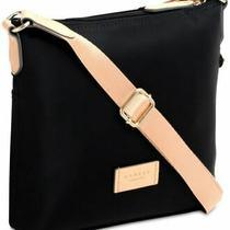 Radley London Pocket Essentials Medium Black Blush Nylon Crossbody Zip Top New Photo
