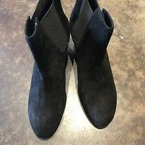 Rag and Bone Black Suede Ankle Boots 2.75 Heel 39 Photo