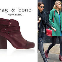Rag and Bone Harrow Boots Port Wine Photo