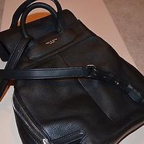 Rag & Bone  Black Leather Pilot Backpack Black Photo