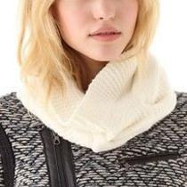 Rag & Bone Felted Cable Circle Scarf in Ivory  Photo