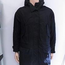 Rag & Bone Greycoat Hooded Parka Black Size Medium Gently Worn Photo