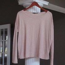 Rag & Bone / Jean  Blush Heather T-Shirt Top Casual Long Sleeve Size M New Photo