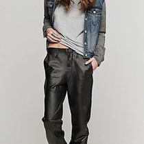 Rag & Bone/jean Lamb Leather Pajama Pants New W/tag Size 24 Photo