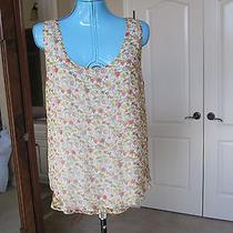 Rag & Bone Ny Tank Top Shirt Floral Size 8 S Nwt 220 Photo