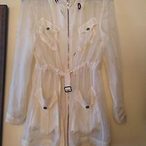 Rag &bone See Through Silk Jacket Shirt Photo