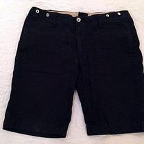 Rag & Bone Solid Black Shorts  Size 32 Photo