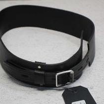 Rag & Bone Women's S/m Field Waist Belt Black W282180dx Photo