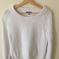 Rag & Bone  Womens White Katia Sweater Knit Size Medium Msrp 350 Photo