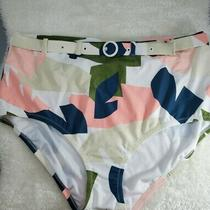 Raisins Curve Women's Elemental Bottom Swim Brief Size 22w Multi Nwt Msrp 46 Photo