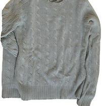 Ralph Lauren Black Label Collection Cable Cashmere Sweater Top Size Slim Fit S Photo