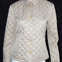 Ralph Lauren Black Label Light Gold Quilted Barn Jacket 10 Photo